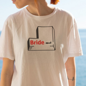 Imprimeu tricou BRIDE - HIT ENTER