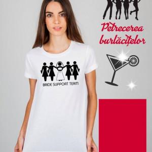 Imprimeu Tricou Bride Support Team