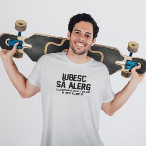 Imprimeu tricou IUBESC SA ALERG