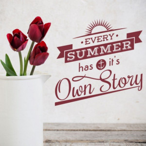 Its Own Story Summer