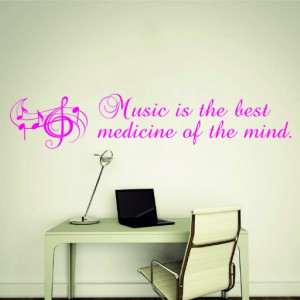 Music is the best medicine