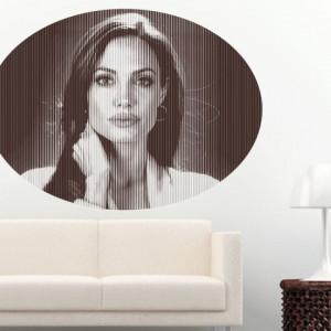 Sticker De Perete Angelina