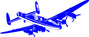 Sticker De Perete Avion