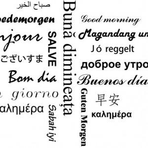 Sticker De Perete Buna Dimineata!