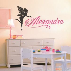 Sticker De Perete Cu Nume - Alexandra