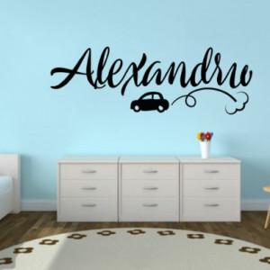 Sticker De Perete Cu Nume - Alexandru
