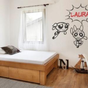 Sticker De Perete Cu Nume - Laura