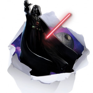 Sticker De Perete Darth Vader 3d