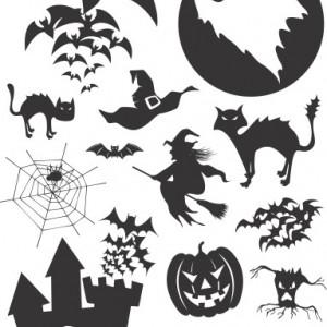Sticker De Perete Decor De Halloween