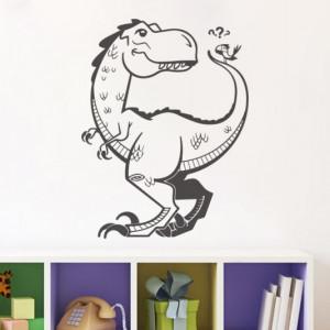 Sticker De Perete Dinozaur Cu Pasare