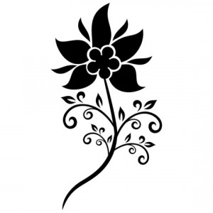 Sticker De Perete Floricica