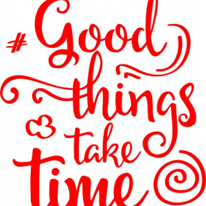 Sticker De Perete Good Things