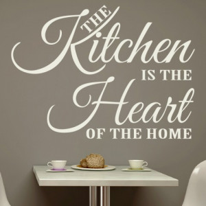 Sticker De Perete Kitchen Heart