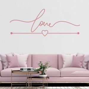 Sticker De Perete Love Design