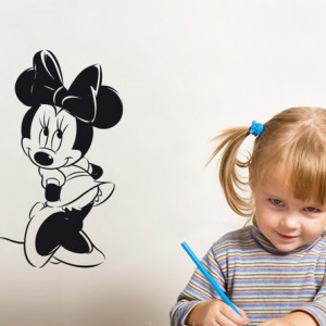 Sticker De Perete Minnie Mouse