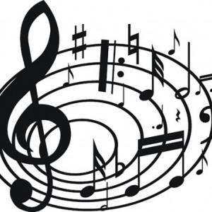 Sticker De Perete Portativ Muzical 2