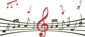 Sticker De Perete Portativ Muzical 3