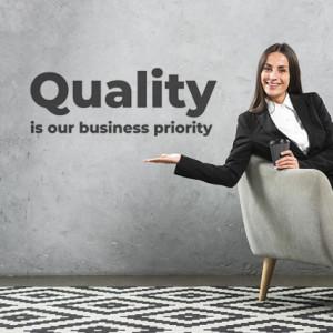 Sticker de Perete Quality - Business Priority