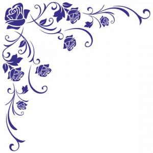 Sticker De Perete Trandafir De Colt