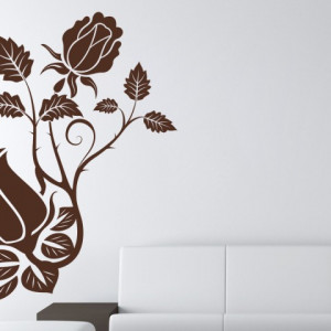 Sticker De Perete Trandafiri
