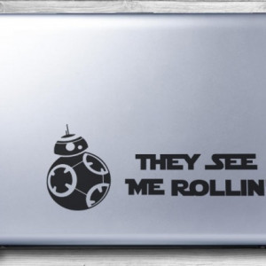 Sticker laptop - BB-8 (Star Wars)