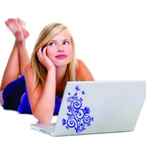 Sticker Laptop - Floare 03