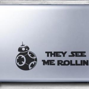 Sticker Pentru Laptop - Bb-8 (Star Wars)