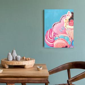 Tablou Bucatarie - Pink Painted Sweets