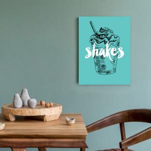 Tablou Bucatarie - Shakes Retro