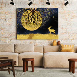 Tablou Canvas Moon Tree