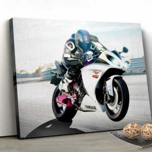 Tablou canvas - Moto race