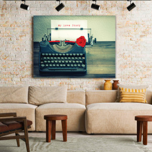 Tablou Canvas My Love Story