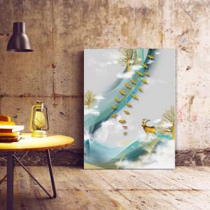 Tablou Canvas Stoluri Aurii