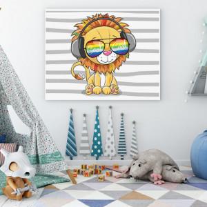 Tablou copii - Cool Lion