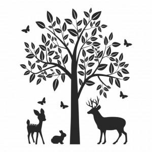 Woodland Animals Tree