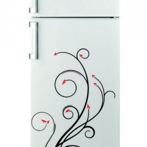 Sticker frigider - floare 01