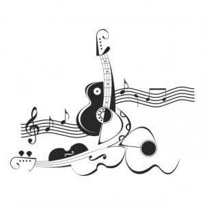 Abstract Violin Music