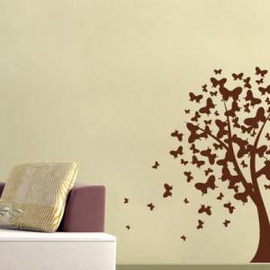 Fluturii din copac