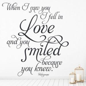 I Fell In Love Shakespeare