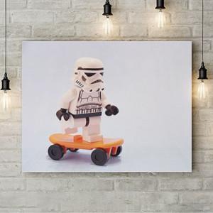 Skating trooper
