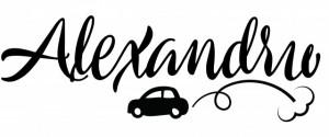 Sticker cu nume - Alexandru