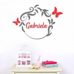 Sticker cu nume - Gabriela