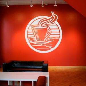 Sticker De Perete Art Caffee