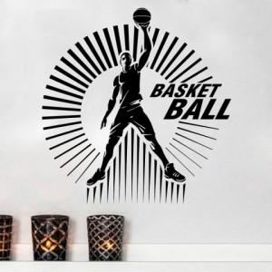 Sticker De Perete Basketball