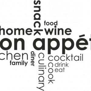 Sticker De Perete Bon Appetit 2