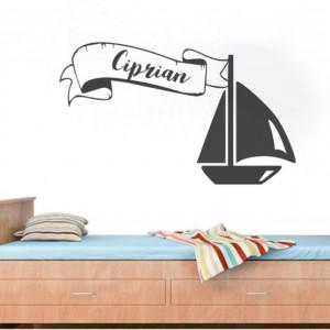 Sticker De Perete Cu Nume - Ciprian