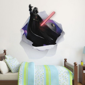 Sticker de Perete Darth Vader 3D