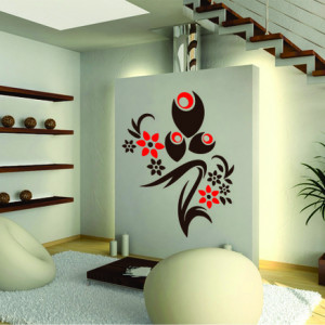 Sticker De Perete Decor Floral 03