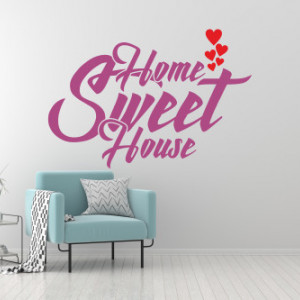 Sticker de Perete Home sweet house