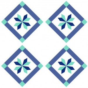 Sticker De Perete Imitatie Faianta Model Romb